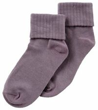 JRP Single Cuff Baby And Kids Socks Cotton Colored Mullberry Purple