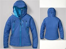 NWT Eddie Bauer Womens First Ascent BC MicroTherm 2.0 Down Jacket Waterproof Blu