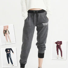 NWT Abercrombie & Fitch By Hollister Womens Banded Fleece Sweatpants XS S M L