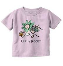 Life Is Poop Costume Good Life Cute Baby Gifts Funny Toddler Infant  T