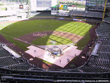 1-4 Atlanta Braves @ Milwaukee Brewers 4/28/17 Tickets 2017 Sec 422 Row 8 Miller