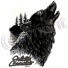 Wildlife Commander Howling Wolf T-Shirt & Tank Tops All Sizes & Colors (793)