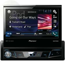 """Pioneer Avh-x7800bt 7"""" Single-DIN In-Dash DVD Receiver with Flip-out..."""
