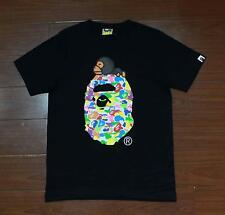 2017 Big Sale Unisex Bape Colorful Monkey Milo A Bathing Ape Casual Tee Shirt
