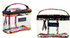 NWT VERA BRADLEY 3-1-1 TRAVEL CLEAR COSMETIC TSA APPROVED