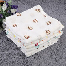 Muslin Cotton Soft Newborn Infant Bath Towel summer cloths Blankets Swaddle F7GS