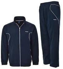 Mens Reebok Full Tracksuit Top and Bottoms Full Zip Sports Joggers & Jacket New