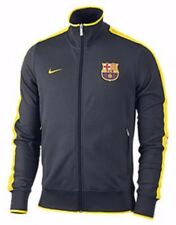NIKE FC BARCELONA AUTHENTIC N98 TRACK JACKET Grey/Yellow.