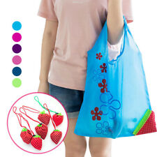 Fashion Cute 8 Colors Reusable Bag Eco Handbag Strawberry Shopping Tote Bags