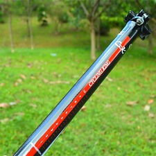 Carbon Seat Post Seatpost Tube MTB Road Bike Bicycle Cycling Parts 31.6x400mm