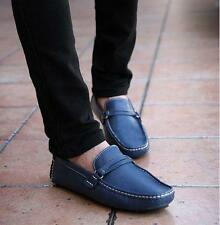 Fashion Mens loafer driving casual shoes slip on moccasin gommino US11.5 size