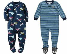 Carters NWT 24 Month Footed Light Weight Pajama Baby Toddler Boys