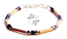 Hazelwood Therapeutic Black Hematite & Wood (Bracelet or Anklet) &