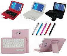 Bluetooth Keyboard PU Leather Cover Cases for Samsung Galaxy Tab 3 Lite 7.0 T110