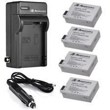 LP-E8 Battery / Charger for Canon Rebel T2 T3i T2i Kiss X5 X4 EOS 550D 600D