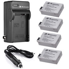 LP-E8 Battery & Charger For Canon EOS 700D 550D 600D 650D Rebel T4i T5i T2i T3i