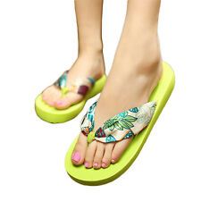 Women Big Size Summer Flip Flops Thong Sandles Casual Flat Slippers Shoes Sandal