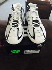 Adidas mens womens boys basketball sneakers White blue navy Floater 08 NWT