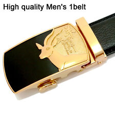 "High quality fashion Mens Belts Sheep totem Genuine  Leather belts Size 30""-44"""