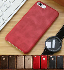 Hot New Luxury Ultra-thin PU Leather Back Skin Case Cover For iPhone6/6S/7/7Plus