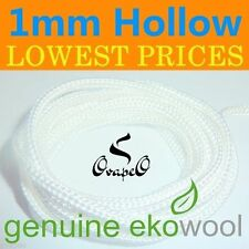 GENUINE EKOWOOL Hollow Braided Silica Wick 1mm Authorized Distributor
