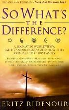 So What's the Difference?: A Look at 20 Worldviews, Faiths Religions Hardcover