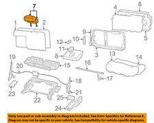 FORD OEM 00-01 Excursion Rear Bench Seat-Headrest Head Rest YC3Z78611A08AAC