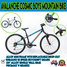 "Avalanche Cosmic BMX24"" Racing Steel Freestyle Mountain Boys Kids Bike Bicycle"