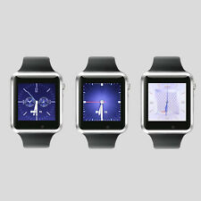 Bluetooth Smart Wrist GPS Positioning Watch Touch Screen Phone Mate For Android