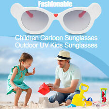 Cartoon Kids Goggle Boys Anti-UV Sunglasses Girls Baby Shades Glasses Fashion WU