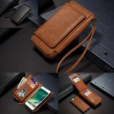 New PU Leather Strap Clutch Wallet Cards Case Cover For Apple iPhone 6 6S 7 Plus