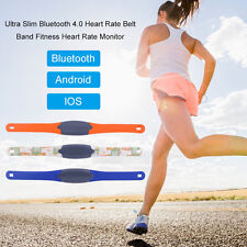 New Ultra Slim Bluetooth 4.0 Heart Rate Belt Band Fitness Heart Rate Monitor HE