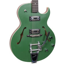 New! The Loar LH-306T Thin Hollowbody Archtop Retro Electric Guitar w/ Bigsby