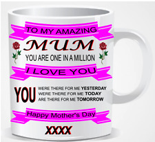Personalised Happy Mothers Day Gift  thank you