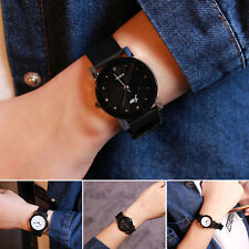 New Leather Women Vintage Strap Small Dial Watch Sport Quartz Lady Slim Watch TS