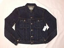 New With Tags Polo Ralph Lauren Mens Denim Jacket Trucker-blue - MSRP - $165.00