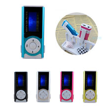 Mini Clip USB MP3 Music Media Player LCD Screen Support 16GB Micro SD TF Card