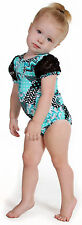 NEW!! Patchwork Gymnastics Leotard from Snowflake Designs - Blue or Pink