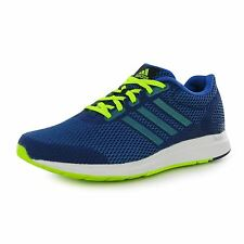 Adidas Mana Bounce Running Shoes Mens Blue Fitness Sports Trainers Sneakers
