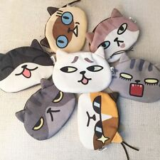 Case Lovely Cartoon Cute Zipper Card Pouch Women 3D Animal Cat Face Purse Coin