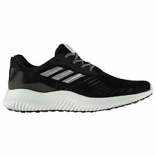 adidas Alpha Bounce Running Shoes Mens Black/White Trainers Sneakers Sports Shoe