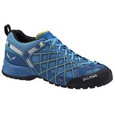 Salewa Wildfire S Gore-Tex Blue Mens mountain climbing shoes