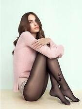 FIORE Butterfly Luxury 20 Denier Super Fine Sheer Patterned Tights