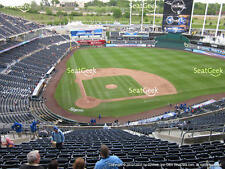 1-4 Los Angeles Angels @ Kansas City Royals Tickets H-V Box 425; S 4/14/17
