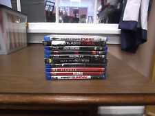 Action Drama  Superhero Movies Blu-Ray DVDs Your Choice 4.97--LIKE NEW