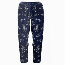 New Womens Floral Summer Trousers Beach Holiday Casual Plus Size  8-18