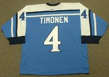 KIMMO TIMONEN 2002 Team Finland Nike Olympic Throwback Hockey Jersey