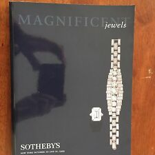 SOTHEBY'S ~ MAGNIFICENT JEWELS OCTOBER 20 - 21, 1999
