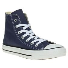 New Boys Converse Blue All Star Hi Canvas Trainers Lace Up