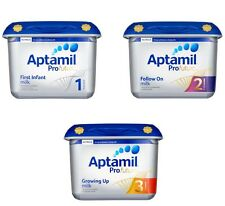 TWO PACK New Aptamil Profutura Milk Powder 800g Stage 1 & 2 &3 100% UK New Stock